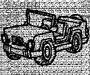 Free coloring and drawings 4 X 4 military Coloring page