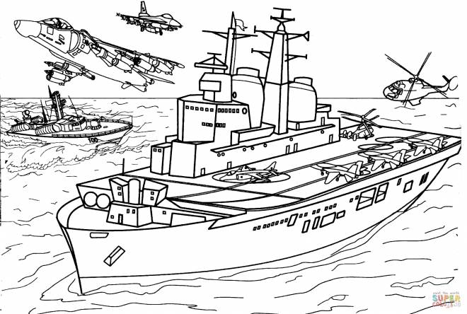 Free coloring and drawings Carrier coloring Coloring page