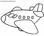 Coloring pages Airplane coloring