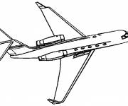 Coloring pages Color airplane