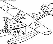 Coloring pages Color plane to download