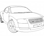 Coloring pages Audi A1