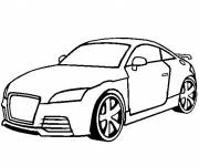 Coloring pages Audi Beetle