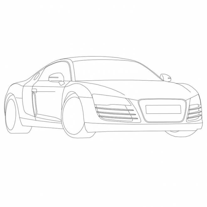 Free coloring and drawings Audi maternal Coloring page
