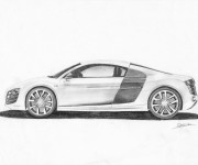 Coloring pages Audi R9