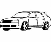 Coloring pages Classic audi
