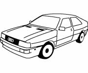 Coloring pages Old Audi