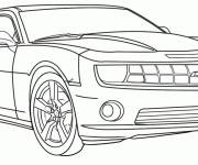 Free coloring and drawings A Luxury Car to color Coloring page