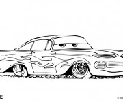 Free coloring and drawings Automobile Ramone Disney Coloring page