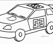 Free coloring and drawings Racing auto Coloring page