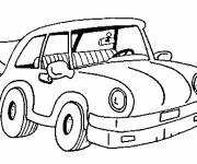 Free coloring and drawings A small car online Coloring page