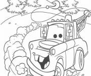 Coloring pages Almighty Auto Martin
