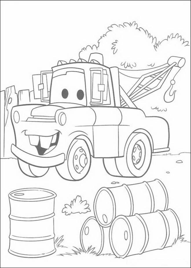 Free coloring and drawings Martin pickup truck Coloring page