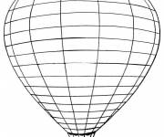 Free coloring and drawings Hot air balloon online Coloring page