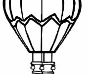 Coloring pages Hot air balloon paintings
