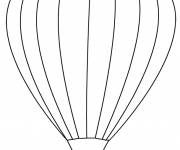 Coloring pages Hot air balloon to paint