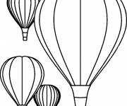 Coloring pages The Hot Air Balloon Show