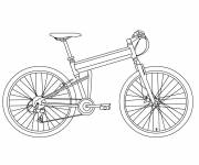 Coloring pages Downloadable bicycle