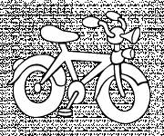 Coloring pages Easy road bike