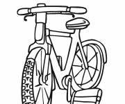 Coloring pages Free bike