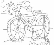Coloring pages Outdoor cycling