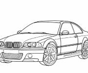 Coloring pages BMW color