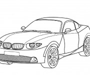 Coloring pages BMW I8