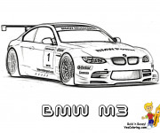 Coloring pages BMW M3