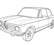 Coloring pages BMW old model