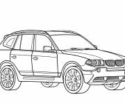 Coloring pages BMW x6 coloring