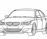 Coloring pages Stylish BMW M3