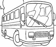 Coloring pages Coloring bus