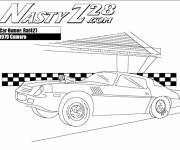 Free coloring and drawings Camaro 1979 fast Coloring page