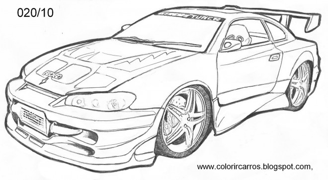 Free coloring and drawings Chevrolet Camaro Coloring page