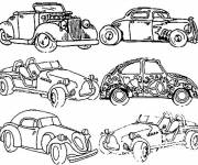 Coloring pages Classic Cars
