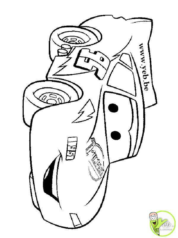 Free coloring and drawings Flash Race Car Coloring page