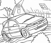 Coloring pages Adult Tuning Car