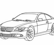 Free coloring and drawings BMW M3 online Coloring page