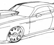 Coloring pages Car Tuning