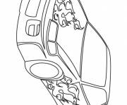 Coloring pages Car Tuning Flame