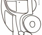 Coloring pages Car Tuning in pencil