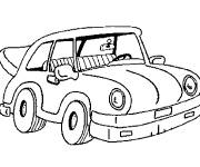 Coloring pages Car tuning to cut out