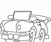 Coloring pages Color Tuning Car