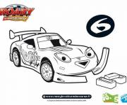 Coloring pages Roary The racing car