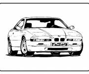 Coloring pages Tuning car front view