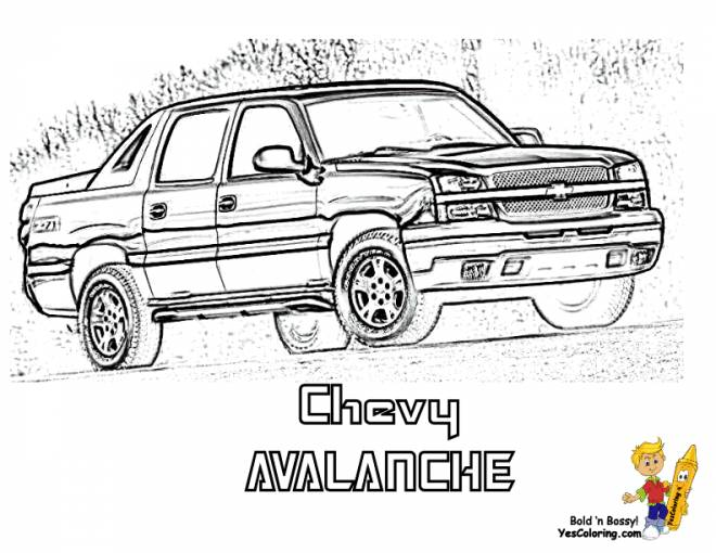 Free coloring and drawings Box sport cars Coloring page