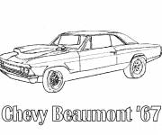 Coloring pages car Chevrolet