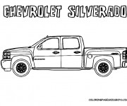 Coloring pages Chevrolet 17