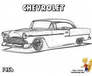 Coloring pages Chevrolet 34