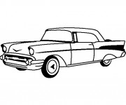 Coloring pages Chevrolet 35